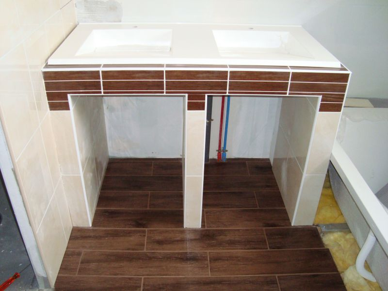 Bien Connu Fabriquer Meuble Salle De Bain Siporex U2013 Chaios.com XE06