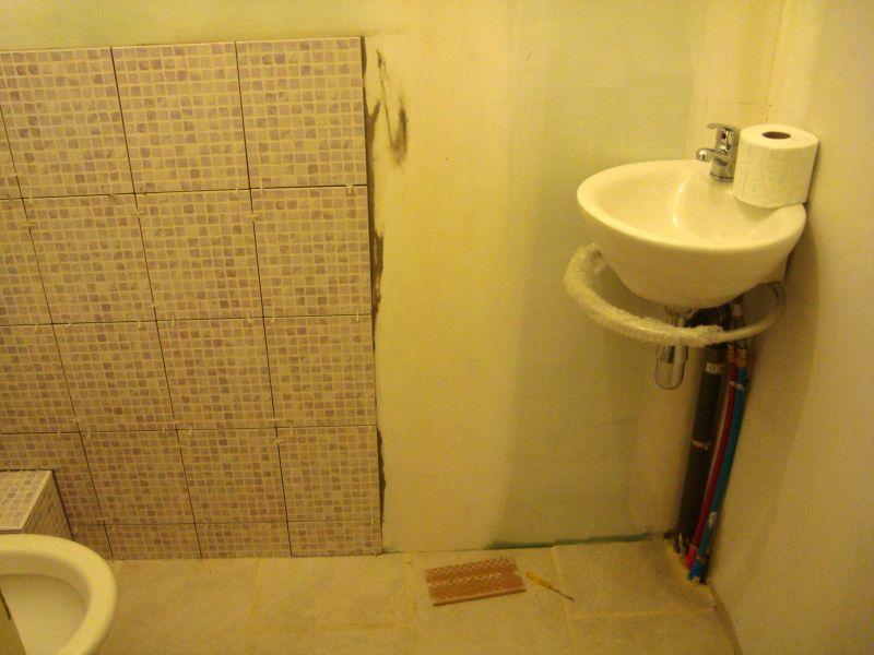 carrelage toilettes at il tait une fois notre maison. Black Bedroom Furniture Sets. Home Design Ideas